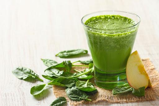 น้ำผักและผลไม้สดปั่น